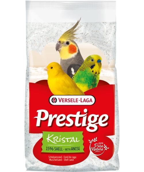 Versele-Laga Prestige Kristal Muschelsand weiß