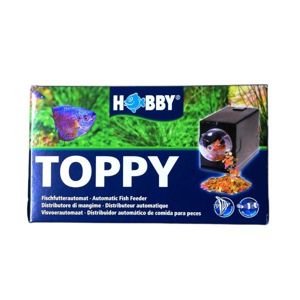HOBBY Toppy, Fischfutterautomat Batteriebetrieben