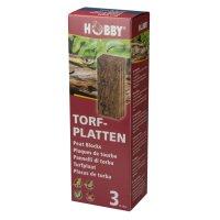 HOBBY Torfplatten, 3 Stück 8 x 20 x 1,8 cm