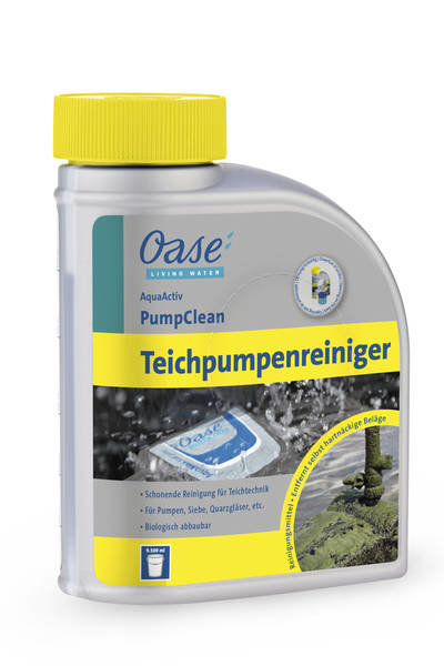 Oase Aqua Active Pumpclean 500 ML Teichpumpenreiniger Cleaning D.Teichtechnik