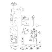 Oase BioPlus Aquarien-Eck-Innenfilter
