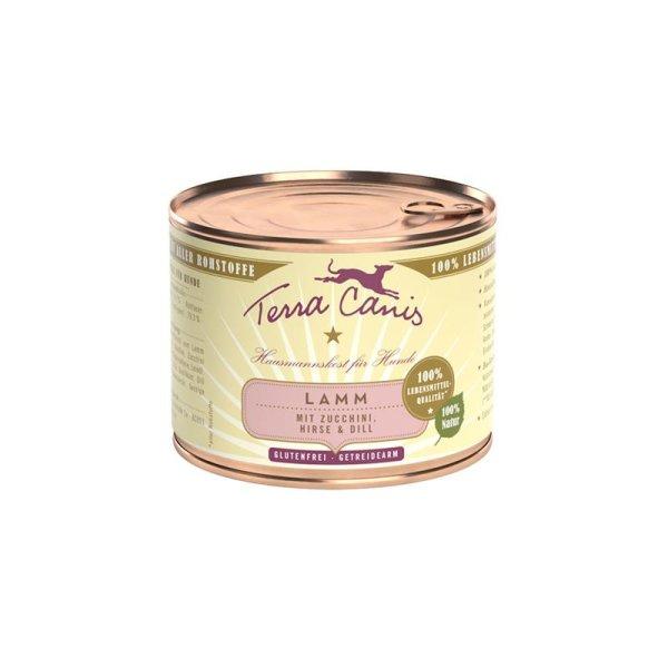 Terra Canis Classic Lamm mit Zucchini, Hirse & Dill