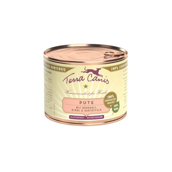 Terra Canis Pute mit Brokkoli, Birne & Kartoffel