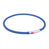 TRIXIE Flash Leuchtring USB, Silikon 70 cm/ø 10 mm