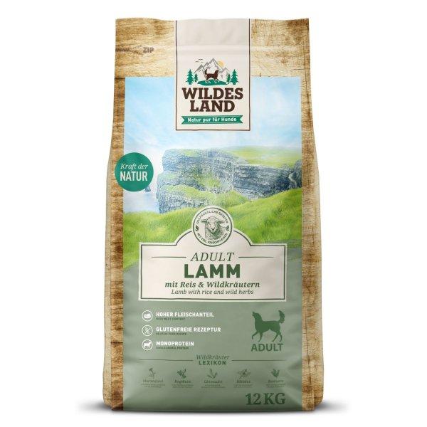 WILDES LAND Classic Adult Lamm mit Reis