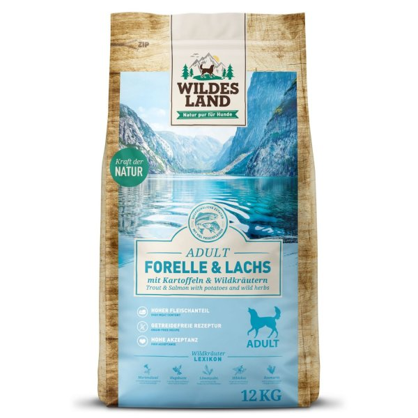 WILDES LAND Classic Adult Forelle & Lachs