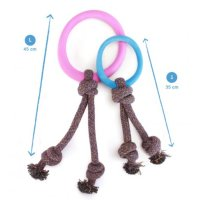 Beco Spielring mit Seil