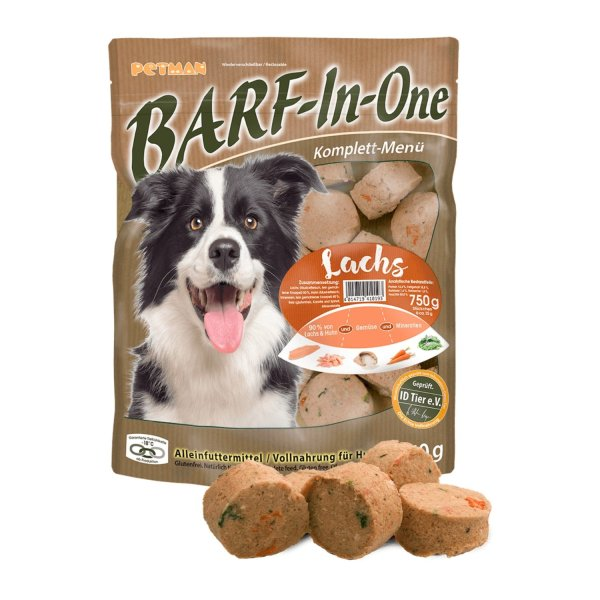 Petman BARF-In-One Lachs 750 g