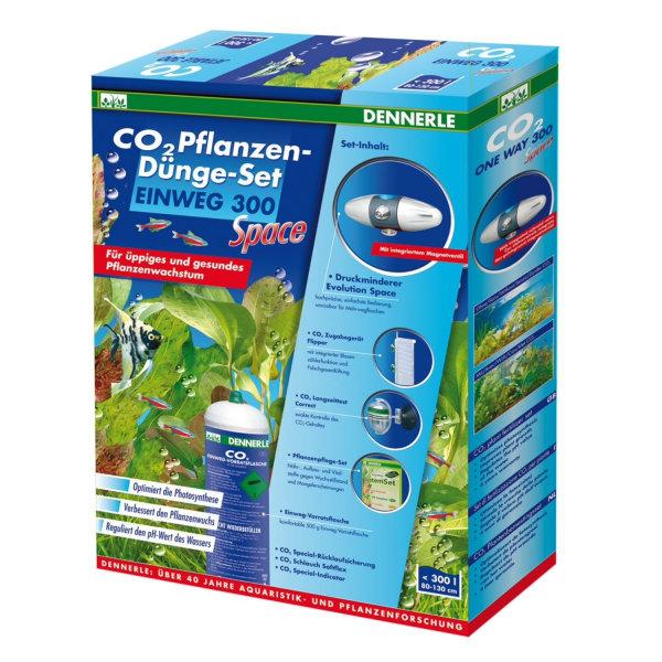 Dennerle CO2 Pflanzen-Dünge-Set EINWEG 300 Space