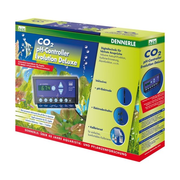 Dennerle Ph-Controller Evolution de Luxe CO2 Ph-Steuerung Kohlensäure-steuerung