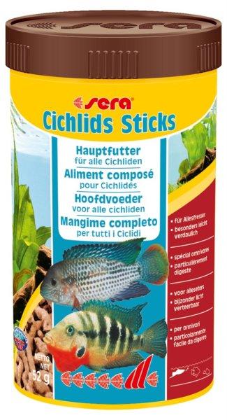 sera Hauptfutter Cichlids Sticks