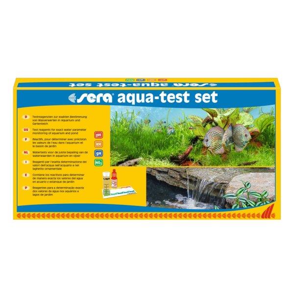 Sera Eau Test Set , de LEau, Valeur Ph, Gh, Kh , NO2 Aquarium Étang