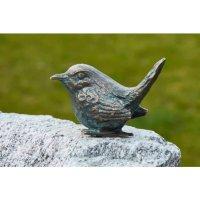 Rottenecker Vogeltränke mit Bronzevogel