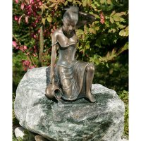 Rottenecker Bronze Figure Letizia 35 cm Handmade Garden...