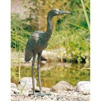 Rottenecker Bronzefigur Graureiher 53 cm