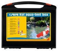 Sera Koi Aqua-Test Scatola Testlabor Testkoffer Stagno...