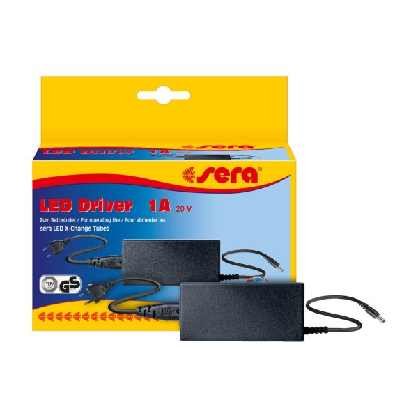 Sera LED Ballast 20V/1A, 2A, 3A, Adapter, Dimmer, Triple Cable Aquarium