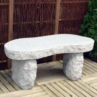 AC Pots Gartenbank Granit Typ D