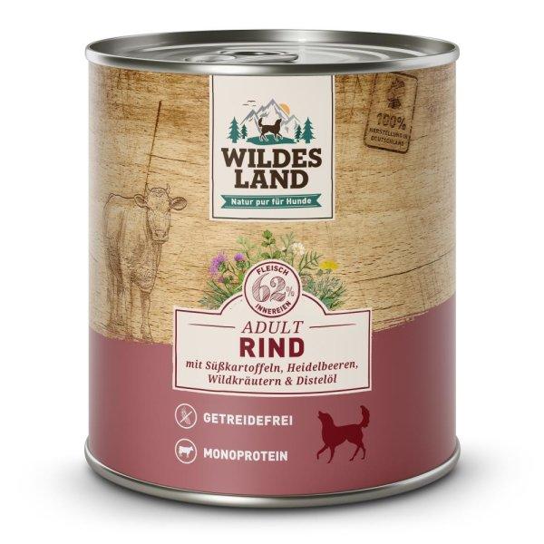 WILDES LAND Nassfutter Classic Rind