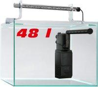 sera Nano Aquarium Scaper Cube 48 l Starterset