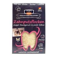 QCHEFS Zahnputzflocken Katze