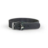 Das Lederband Halsband Weinheim Basic breit