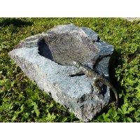 Rottenecker Bird Bath Lizard Bronze Handmade Garden...