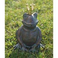 Rottenecker Froschkönig Ratomir mit vergoldeter Krone