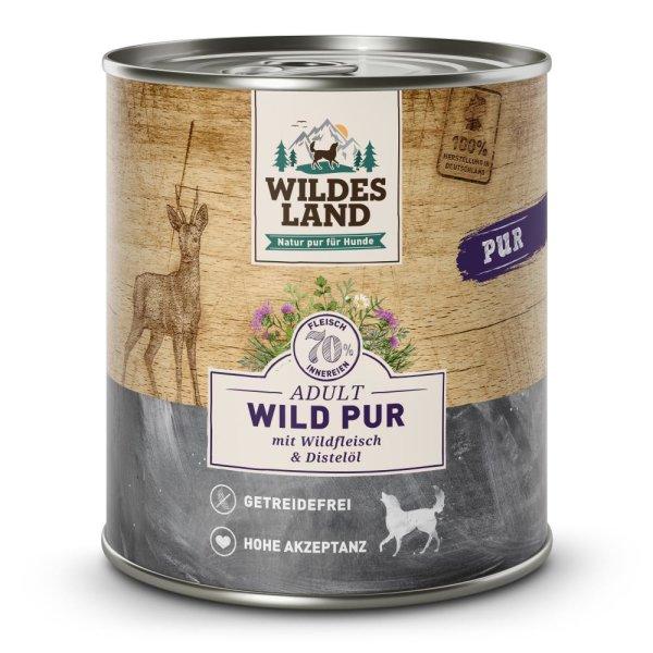 WILDES LAND Nassfutter Wild PUR