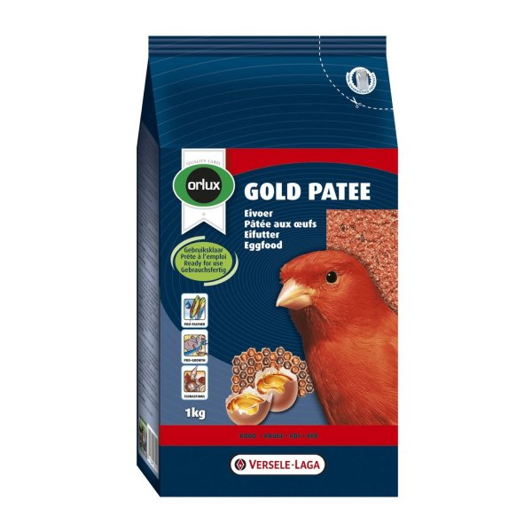 Versele-Laga Orlux Gold Patee Kanarien Rot